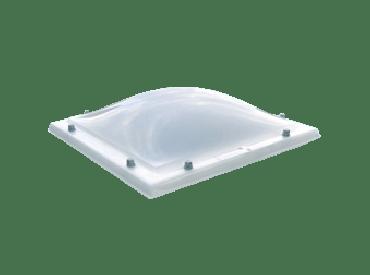 Lichtkoepel acrylaat helder enkelwandig