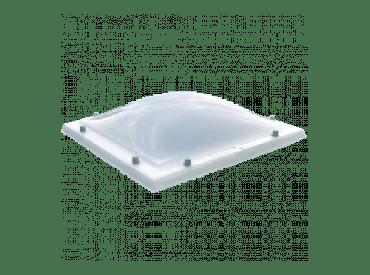 Lichtkoepel polycarbonaat helder dubbelwandig