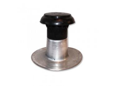 Ontluchting dubbelwandig rond 50-60mm