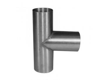 T-stuk zink 100x100mm