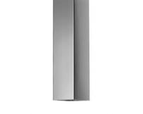 Vierkante zinken regenpijp 100x100mm