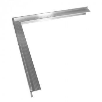 Daktrim aluminium buitenhoek 35x28 mm