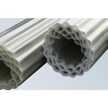 Polyester golfplaat op rol (type G/H, 125 cm uitval)