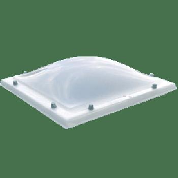 Lichtkoepel polycarbonaat helder enkelwandig