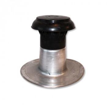 Ontluchting compleet DW Ø 70-80 mm aluminium