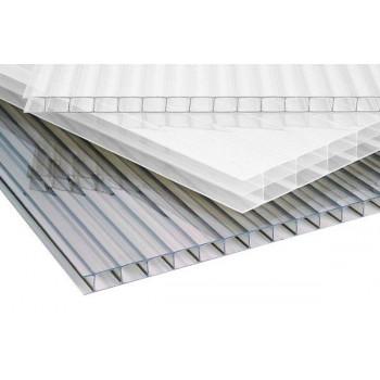 Polycarbonaat kanaalplaat 10mm dik 105cm breed