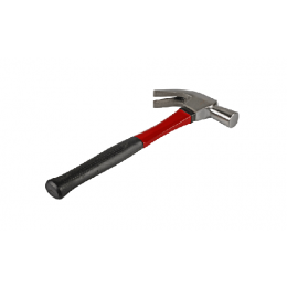 Klauwhamer met fiberglas steel