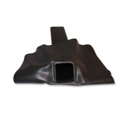 EPDM hemelwaterafvoer 60x100x500 mm met flap 45˚