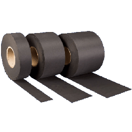 EPDM strook rol 50 cm breed, 1.52 mm