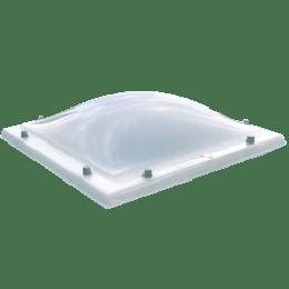 Lichtkoepel acrylaat opaal (pmma) driewandig