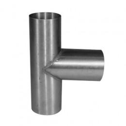 T-stuk zink 100x100mm 90 graden