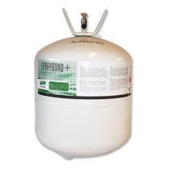 EPDM drukvat spraylijm van spraybond+ 17 kg, geschikt voor circa 80m² dakvlak