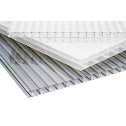 Polycarbonaat kanaalplaat 10mm dik 125cm breed