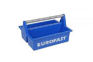 Kunststof toolboxmet alu. beugel