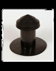 Ontluchting Ø 131/125 mm enkelwandig  PE