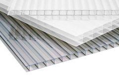 Polycarbonaat kanaalplaat 8mm dik 105cm breed